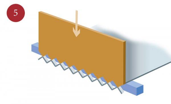 Tillverkning av sträckmetall steg 5
