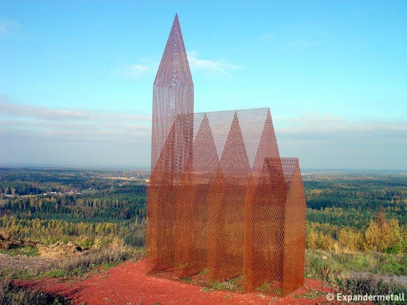 Konstverk av sträckmetall, Kent Karlsson