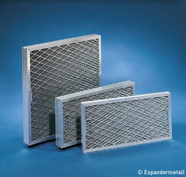 Expandermetall - filter
